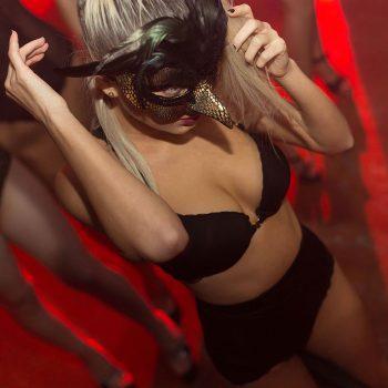 bkue night club